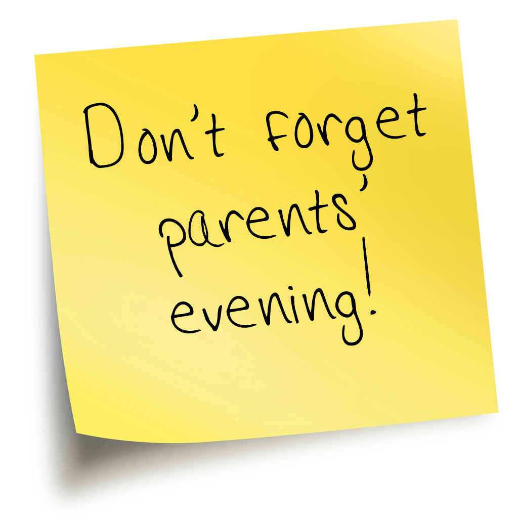 Thursday 2nd April - Parents Evening